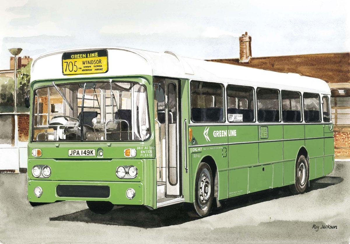 Green Line RP49 coach LT12