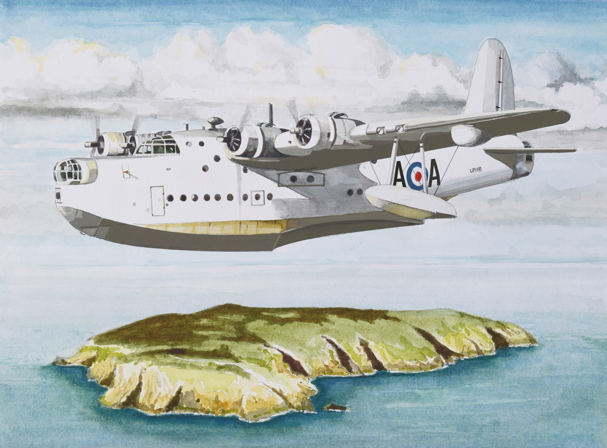 Short Brothers Sunderland Flying Boat